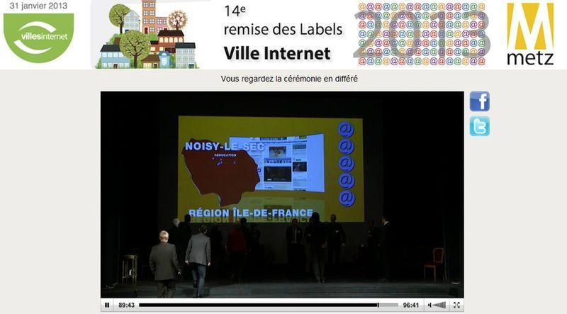noisy le sec prim ville internet 2013 avec mention ducation le video blog de. Black Bedroom Furniture Sets. Home Design Ideas