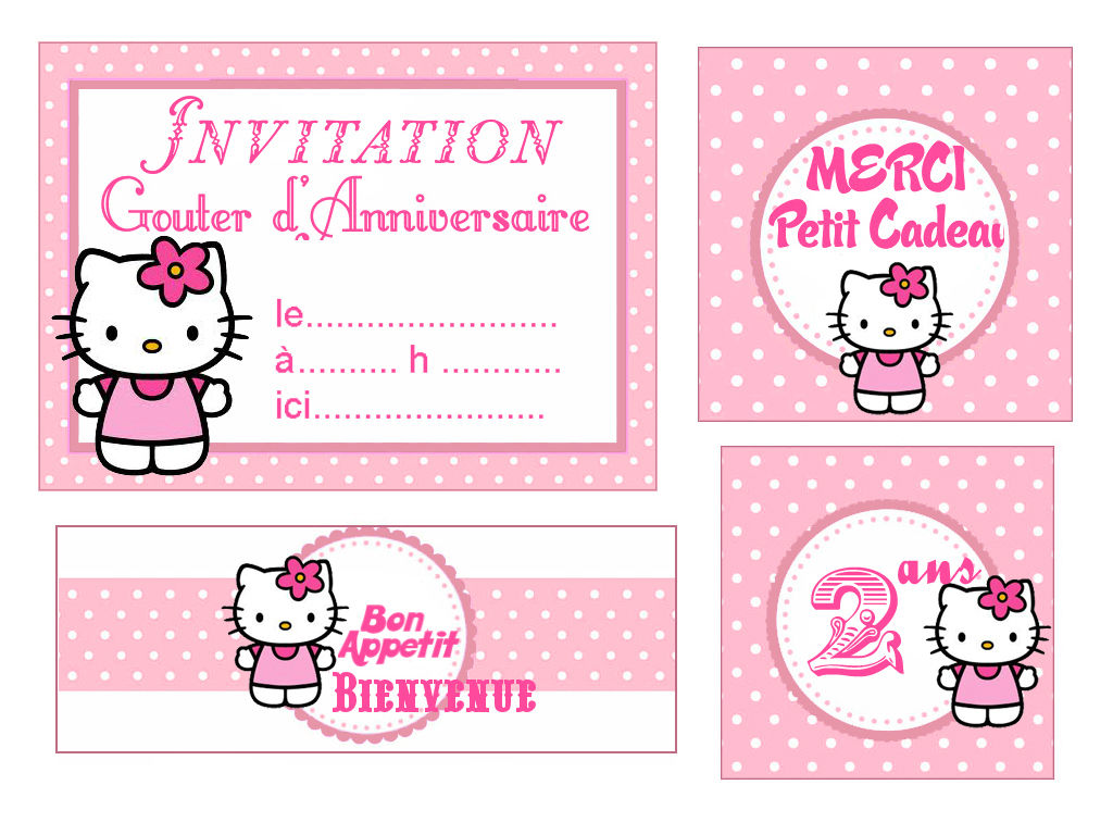 theme hello kitty pour faire plaisir - Hello Kitty Anniversaire