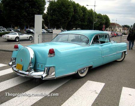 Cadillac coupé de ville avec continental kit de 1955 (Tako Folies Cernay 2011) 03