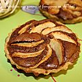 Tartelettes aux pommes et à la crème d