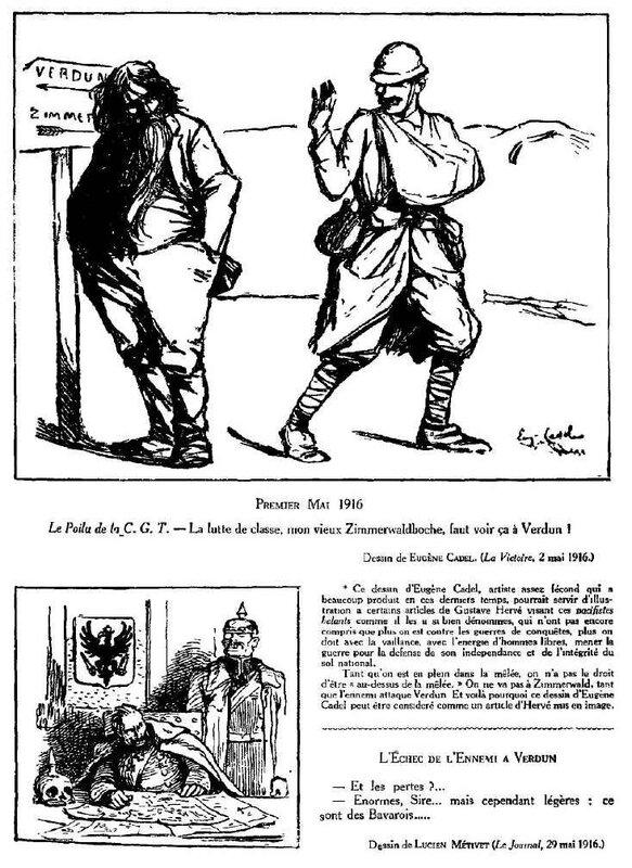 Dessins de guerre Verdun25