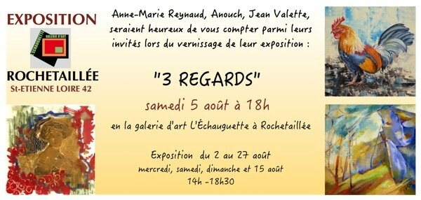 invitation Rochetaillée 3 regards