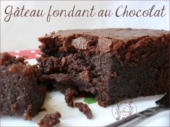gateau fondant chocolat 1