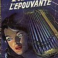 L'orgue de l'épouvante - jean murelli - collection angoisse - fleuve noir - 1959