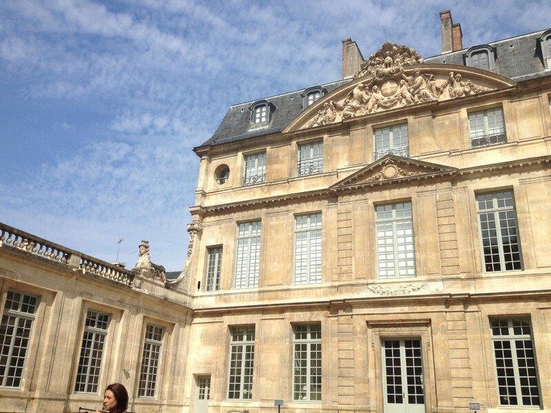 Hotel Salé musée Picasso par Ludivine Rodon