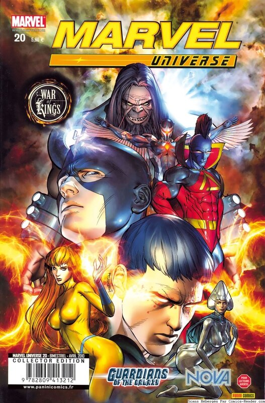 marvel universe 20 war of kings