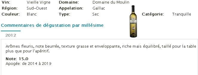 18 vielles vignes blanc