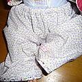 Sarouel de poupée