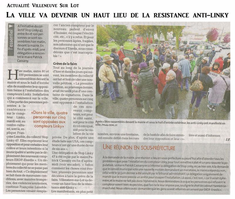 2 Manifestation Villeneuve Sur Lot