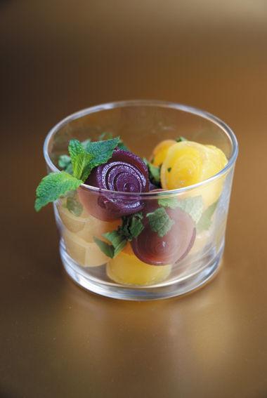 Salade de gelées de fruits