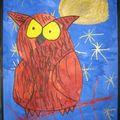 Matern'arts lune, planète, soleil