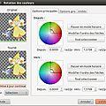 Filtre : rotation des couleurs