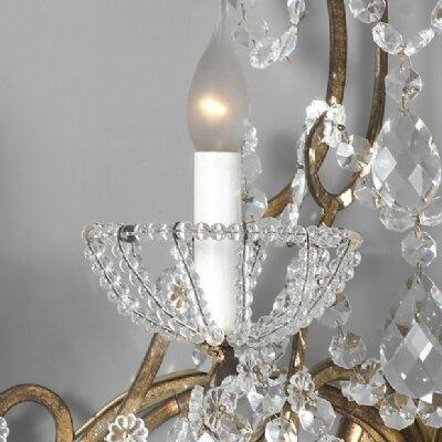 lustre baroque pampilles et coupelles de cristal cr ation artisanale de luminaires de luxe. Black Bedroom Furniture Sets. Home Design Ideas