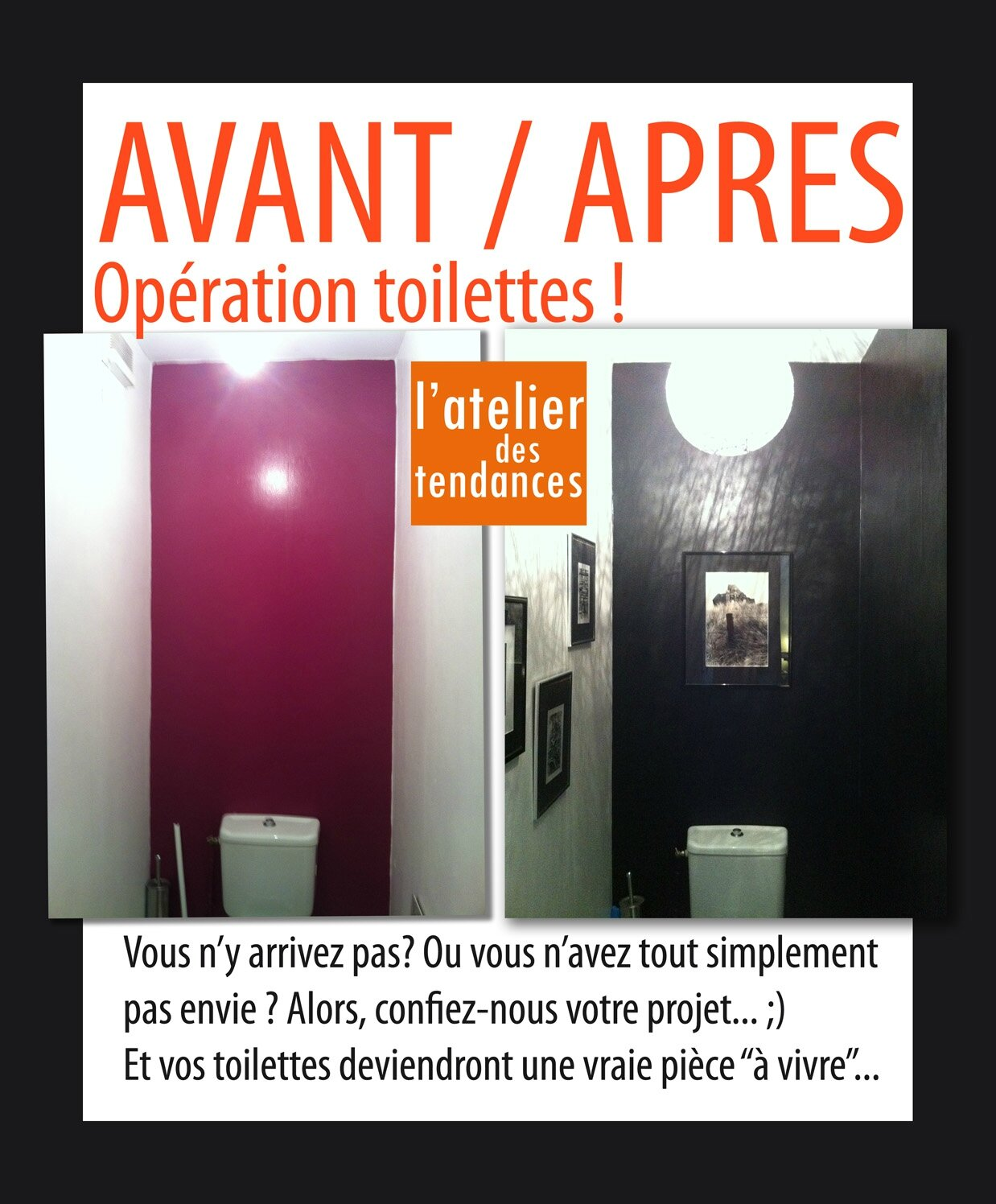 avant apres toilettes photo de conseil d co rozenn krebel photographe. Black Bedroom Furniture Sets. Home Design Ideas