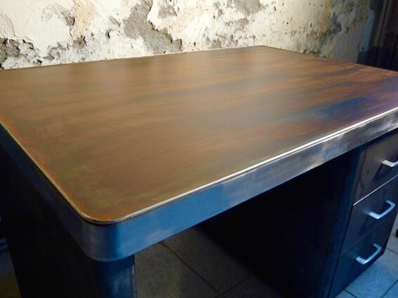 bureau metallique mel desk