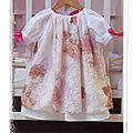 ***défi les piqueuses de jases : la robe*** : ma poupée de porcelaine !