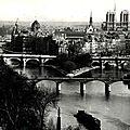 La pointe de la cité et les ponts