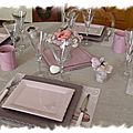table rose poudrée 022