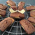 Mini cake marbré sans levure