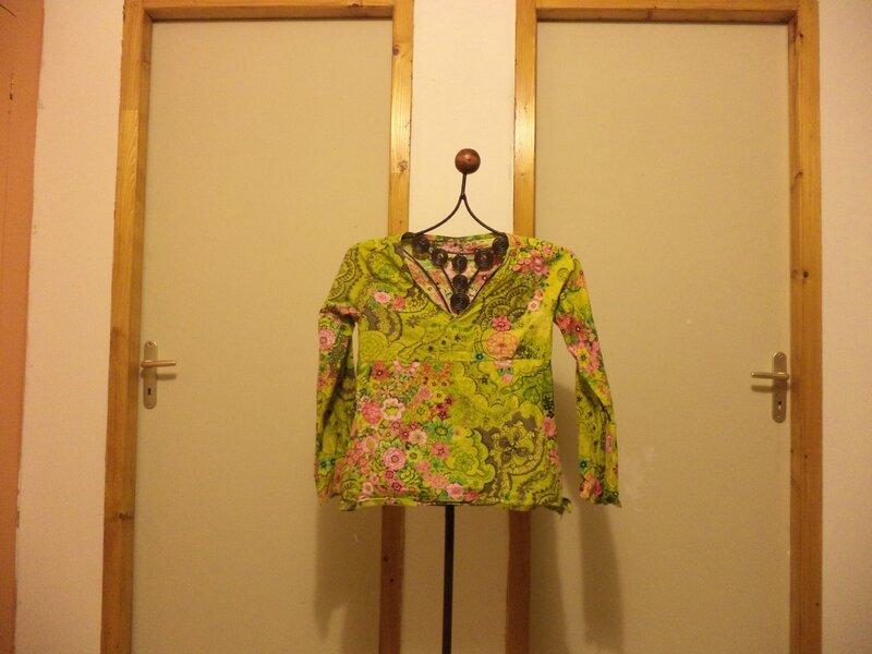 blouse printanière