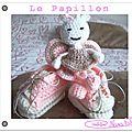 Papillon crochet tuto