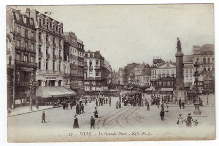 59 - LILLE - La Grand place