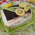 Sushi cake et flexi sushi