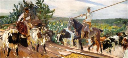 Sorolla_El_encierro_1914_Collection_Hispanic_Society_of_America_New_York