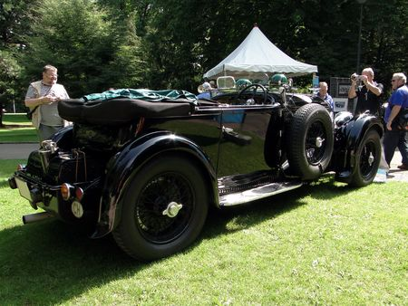 BENTLEY Supercharged Blower 1930 Festival Automobile de Mulhouse 2009 3