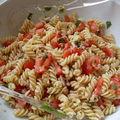 salade de pâtes thon tomate et menthe