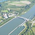 2009 05 12 Vu aérienne depuis l'ULM entre Etoile-sur-Rhône et Chez moi à Madelonnet (53)