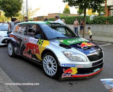 Skoda fabia S2000 n°25 (Hanninen Markkula)(Rallye de france 2011) 02