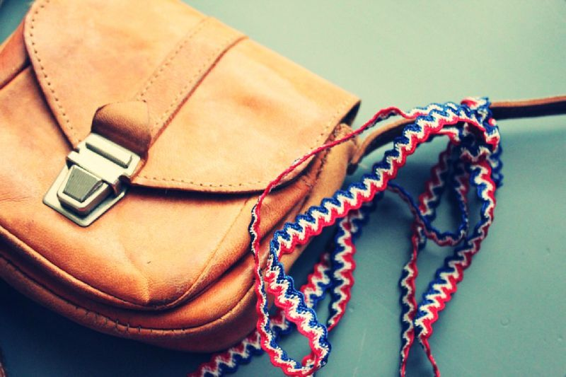mini tiny bag and french ribbon_effected