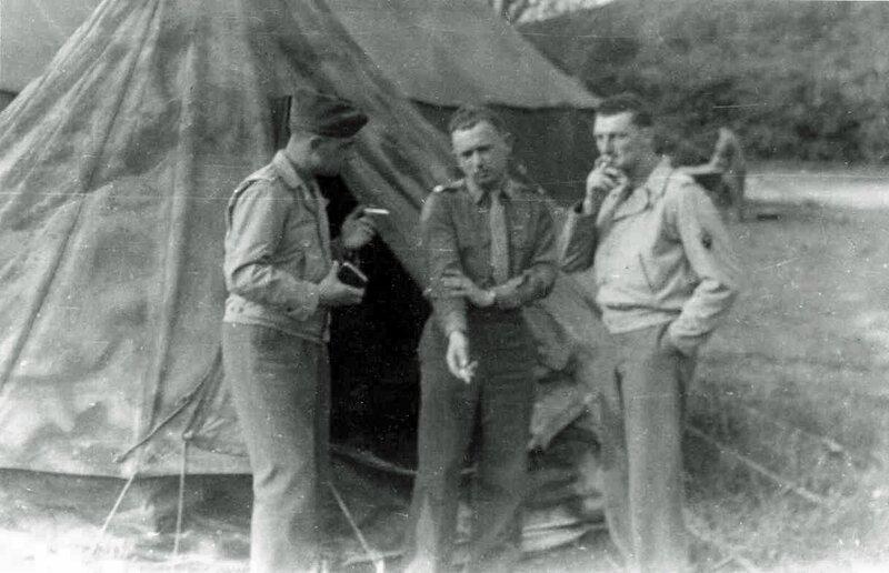 Angleterre Fimber Station printemps 1944 1er Escadron PIQUET - de TRUCHIS - NOUVEAU copie