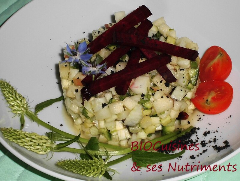 fenouil courgette pomme