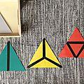 Les triangles constructeurs