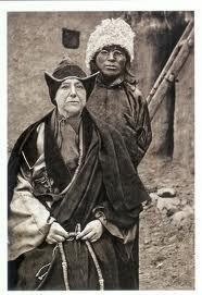 Alexandra David Neel et Lama Longden son fils adoptif