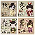Broderies du monde- japon