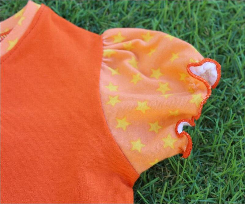 tiche orange manche