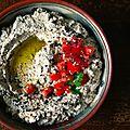 Baba ganoush (caviar d'aubergine libanais)