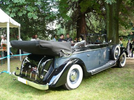 MAYBACH SW 38 cabriolet transformable 1939 Mulhouse (2)