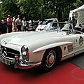 Mercedes benz 300 sl roadster 1957 à 1963