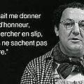 Un scientifique français rend sa légion d'honneur qui est décernée aux personnalités à qui on veut rendre hommage...
