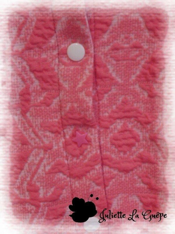 Mini monceau rose jersey épais 3