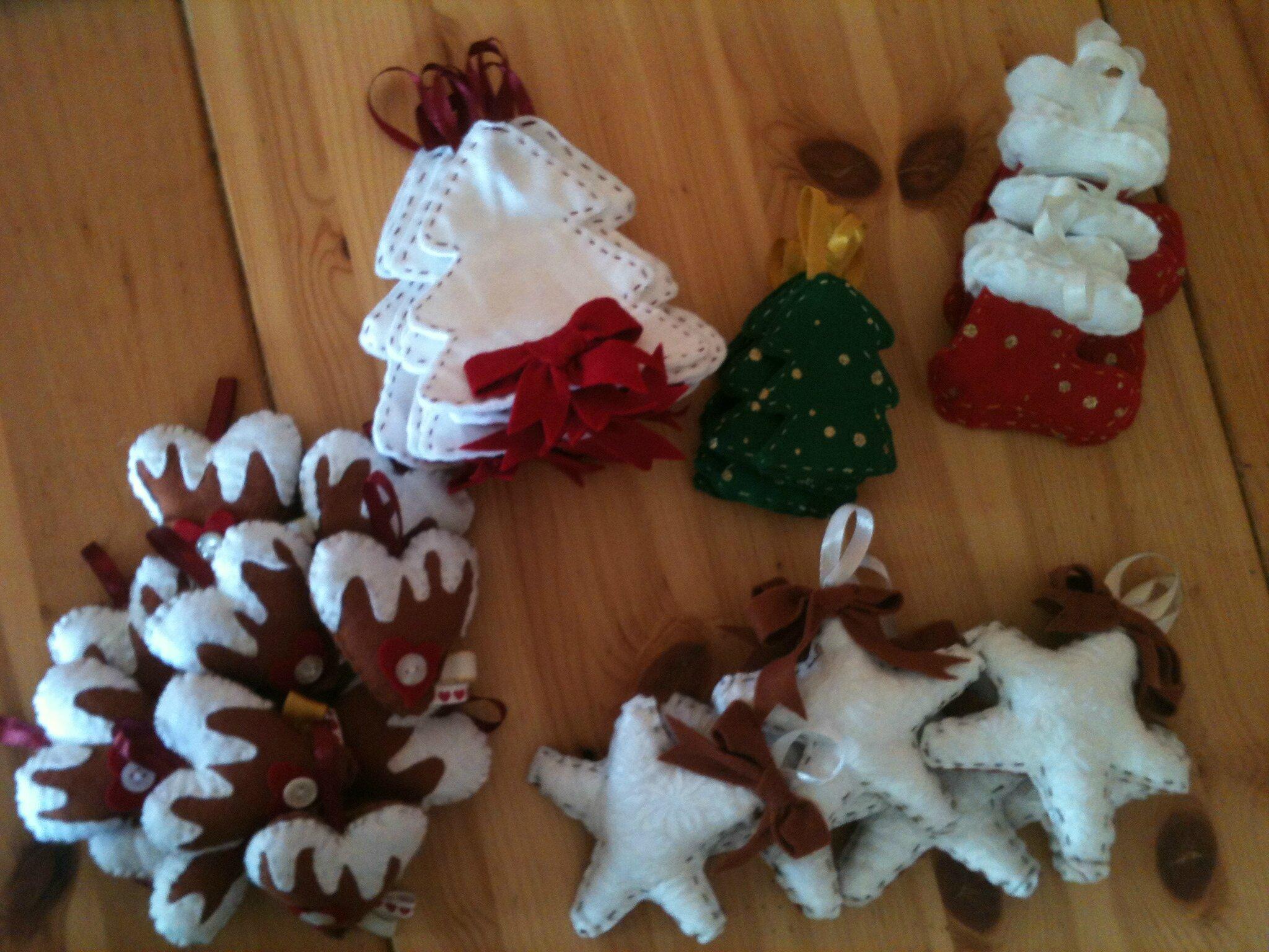#6D4324 Décorations De Noël En Feutrine Le Petit Monde D  5427 décorations de noel feutrine 2048x1536 px @ aertt.com