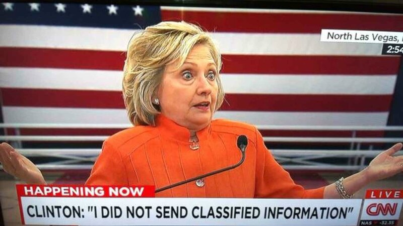 Hillary Clinton 's email scandal
