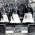 FOURMIES - Baptême des Cloches 1920