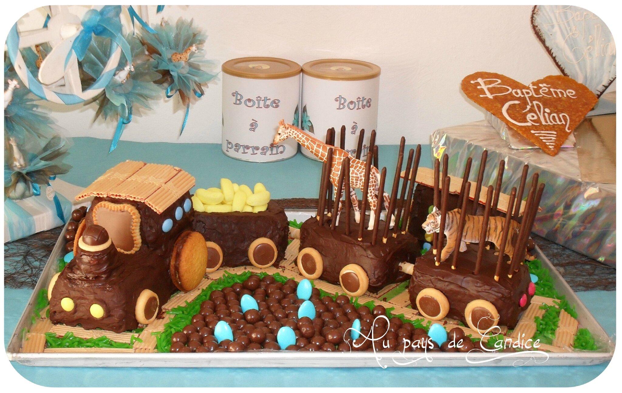 Deco gateau train - Decoration pour gateaux d anniversaire ...