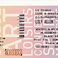 Lily allen - mercredi 6 mai 2009 - cigale (paris)