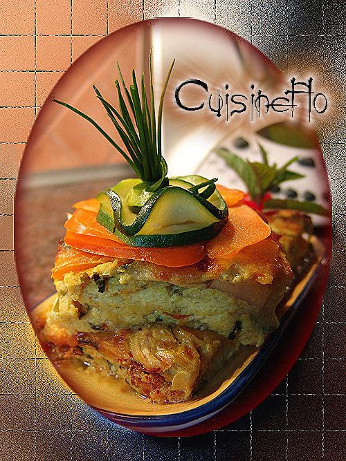 Clafoutis du jardinier de Cuisineflo